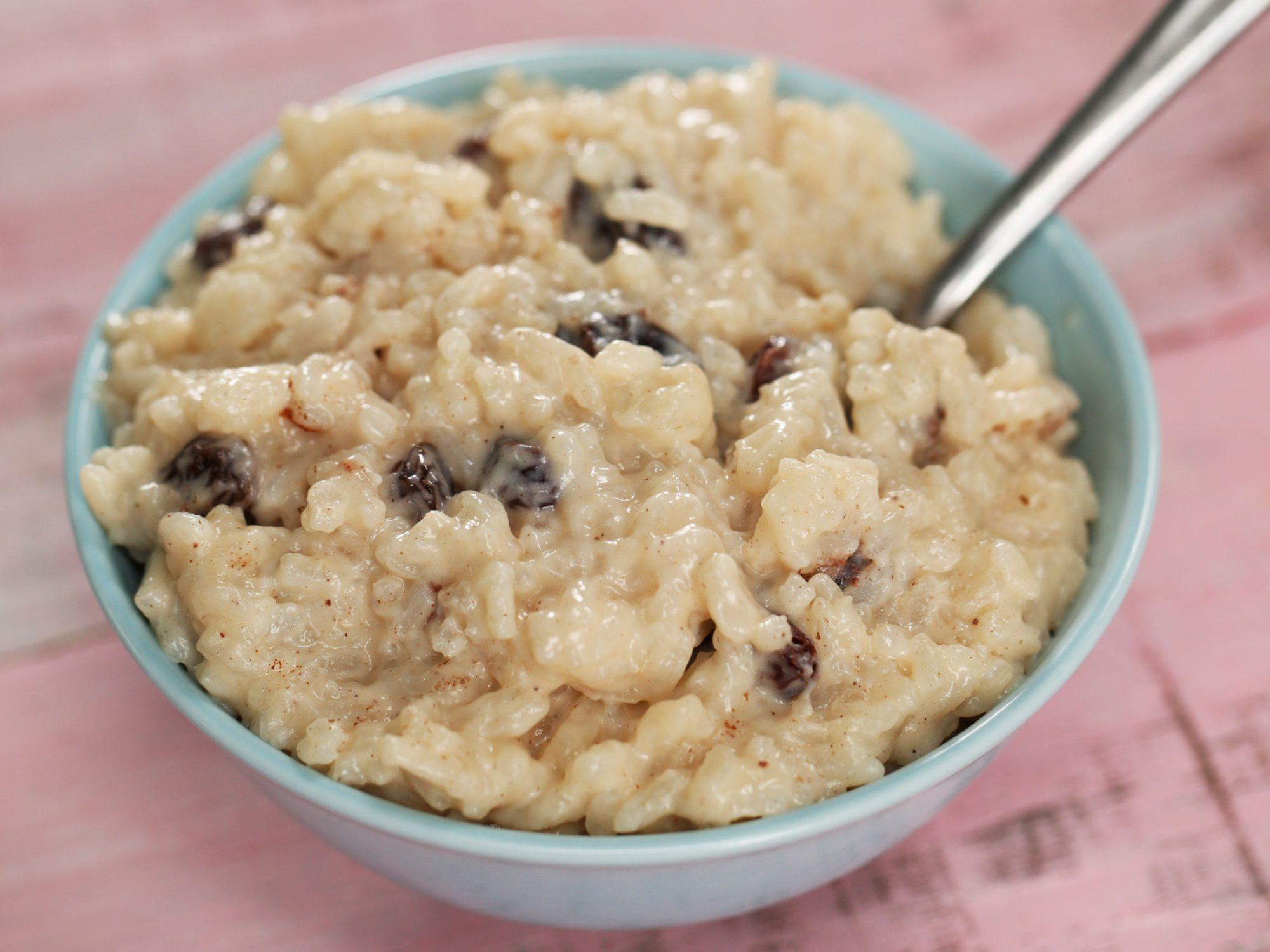Creamy Classic Rice Pudding image