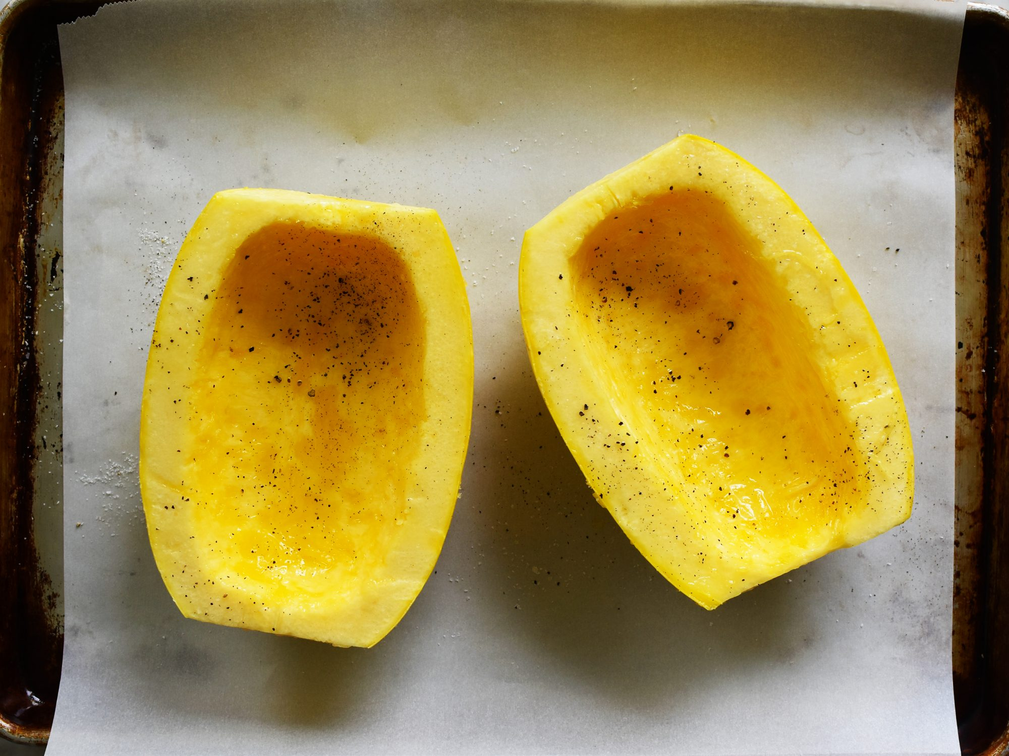 Seasoned Spaghetti Squash