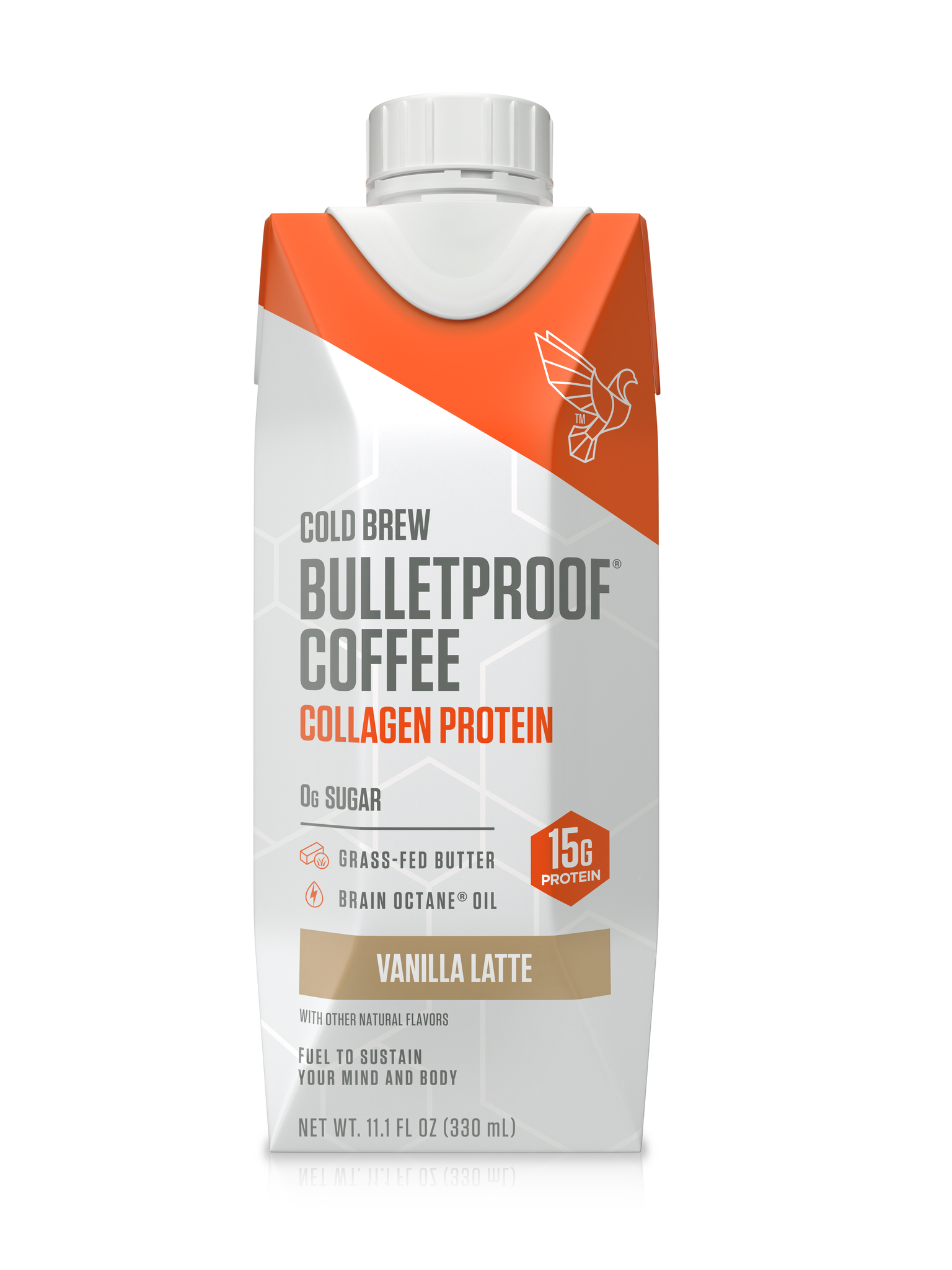 bulletproof vanilla latte collagen