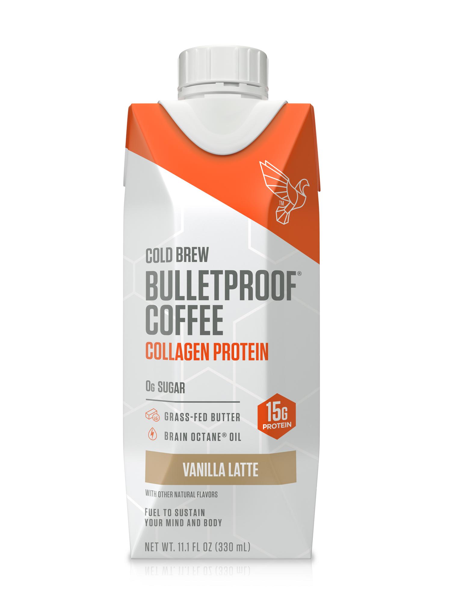bulletproof vanilla latte collagen