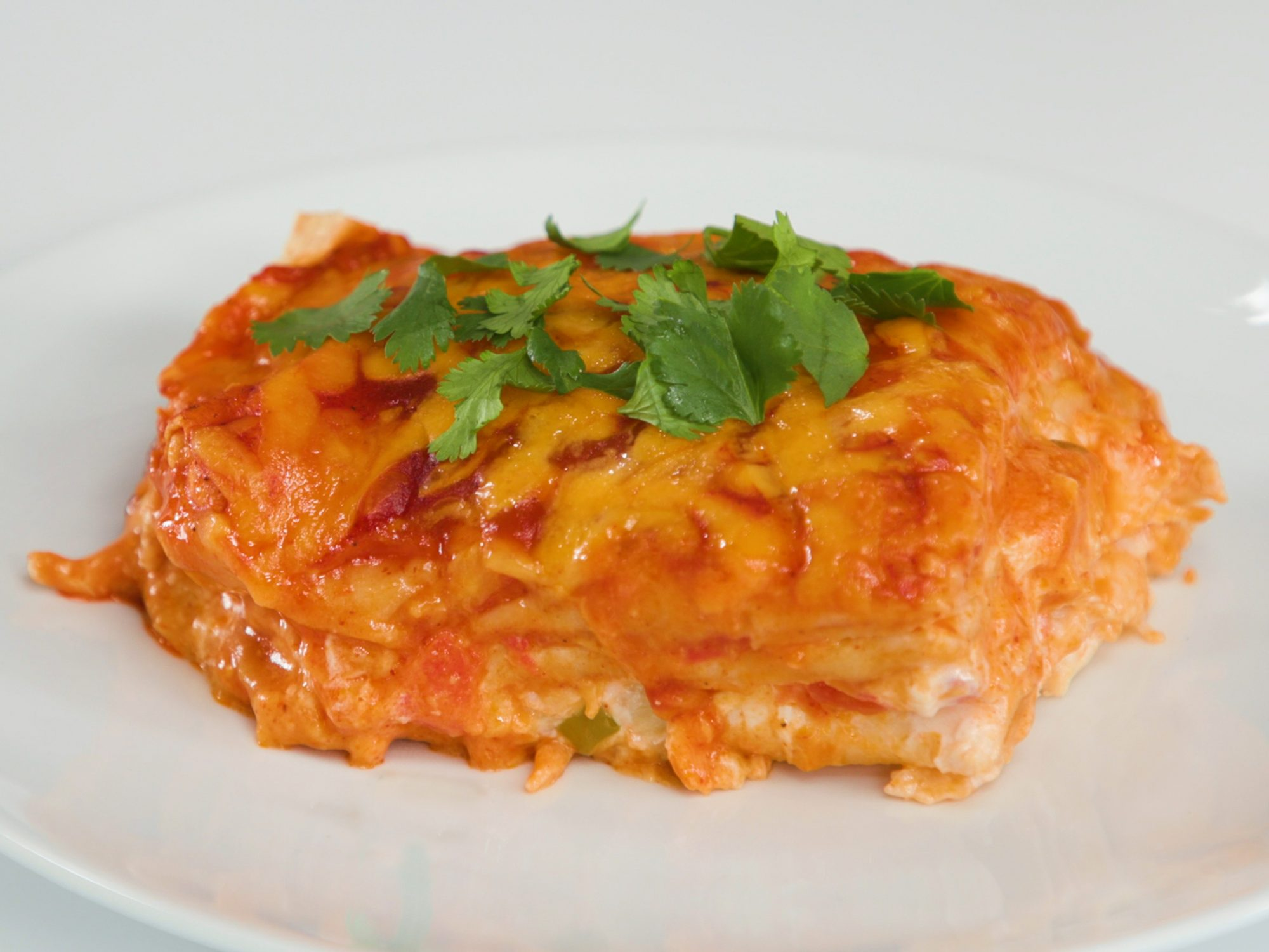 Simple Enchilada Casserole image