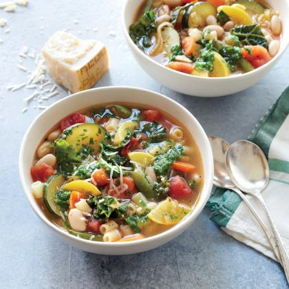 Cook With Confidence: Summer Minestrone Soup
