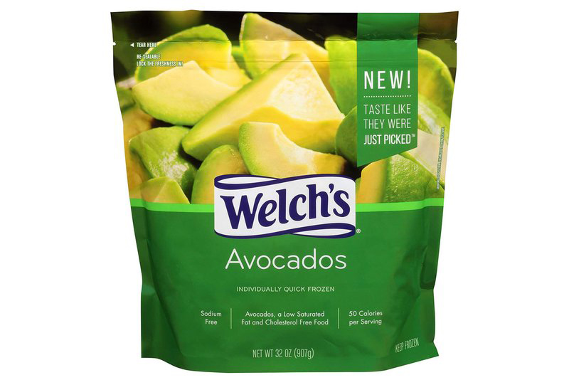 Welch's is Now Selling Frozen Avocado Chunks