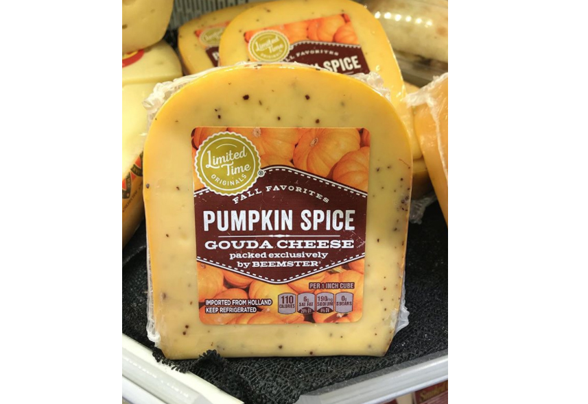 pumpkin spice cheese