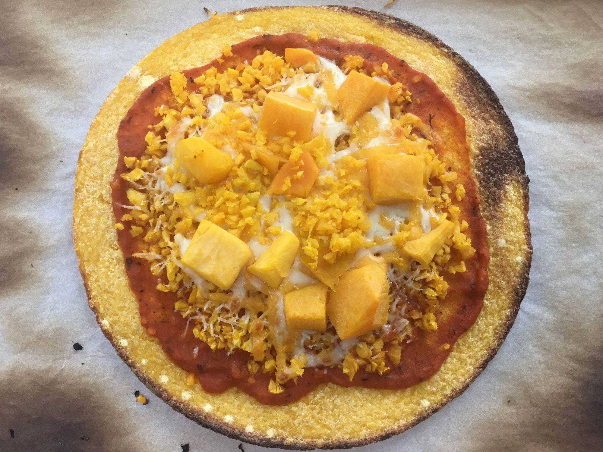 Trader Joe's Butternut Squash Pizza Crust Baked