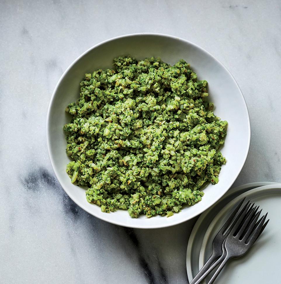 Green Cauliflower Rice