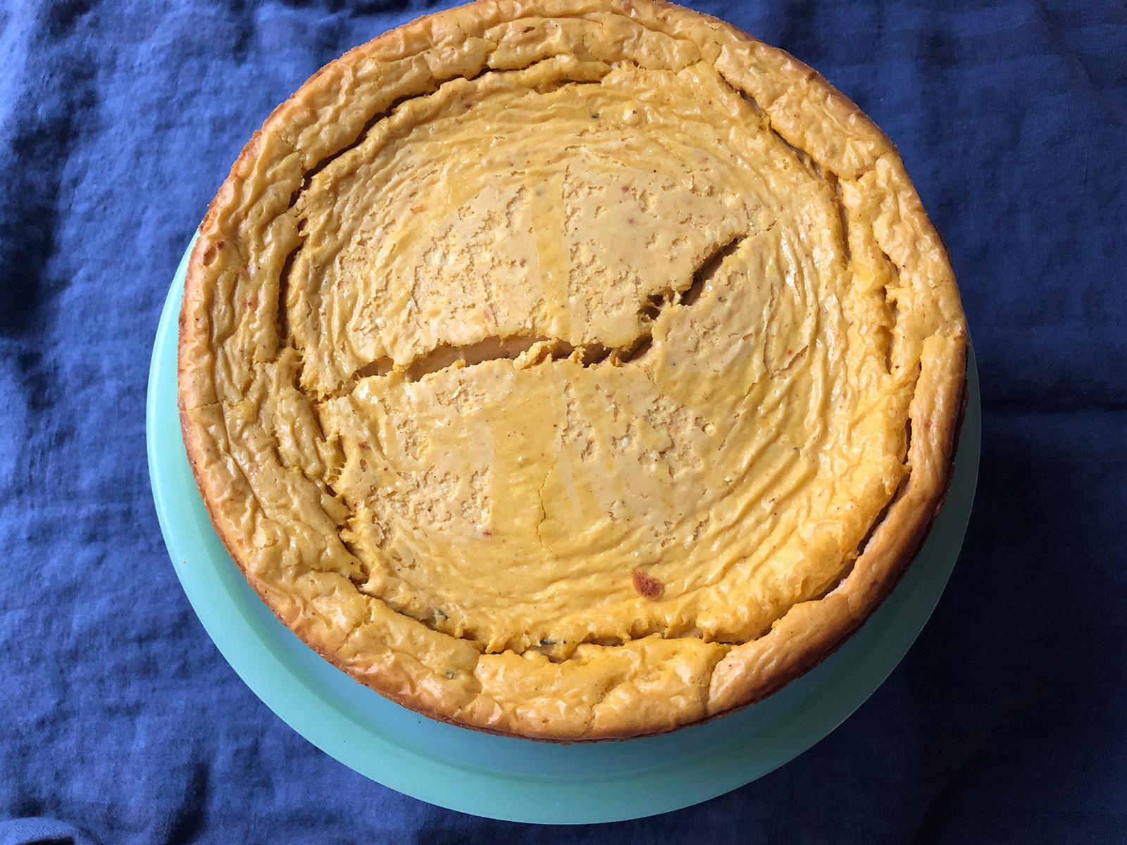 Savory Pumpkin Cheesecake Is Like a Little Miracle