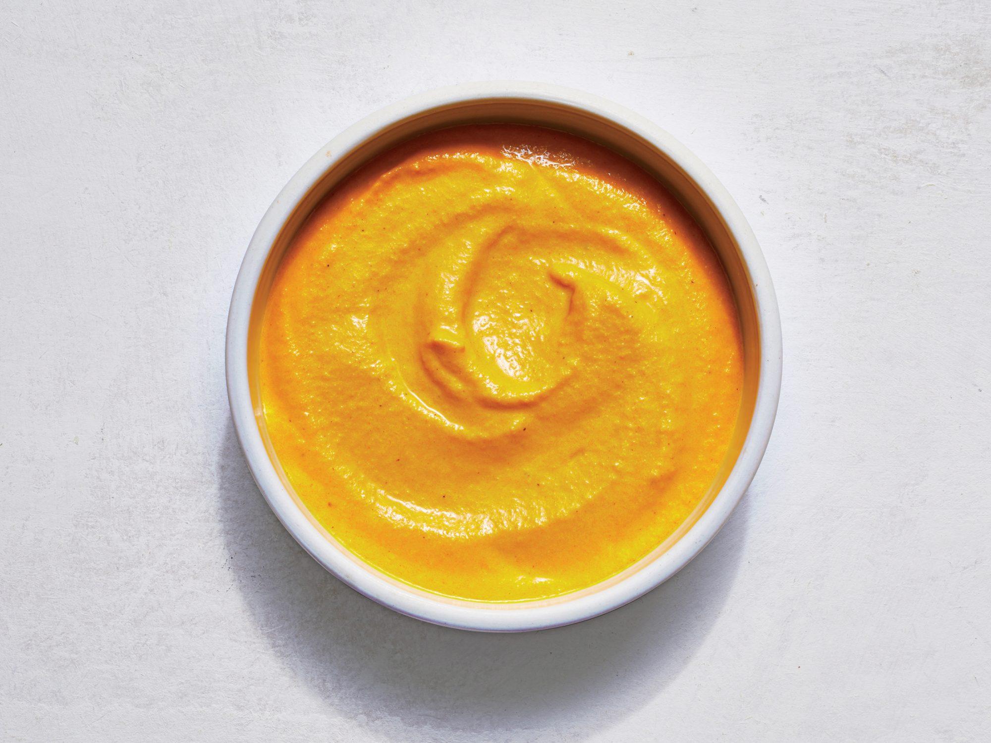 Carrot-Ginger Turmeric Sauce