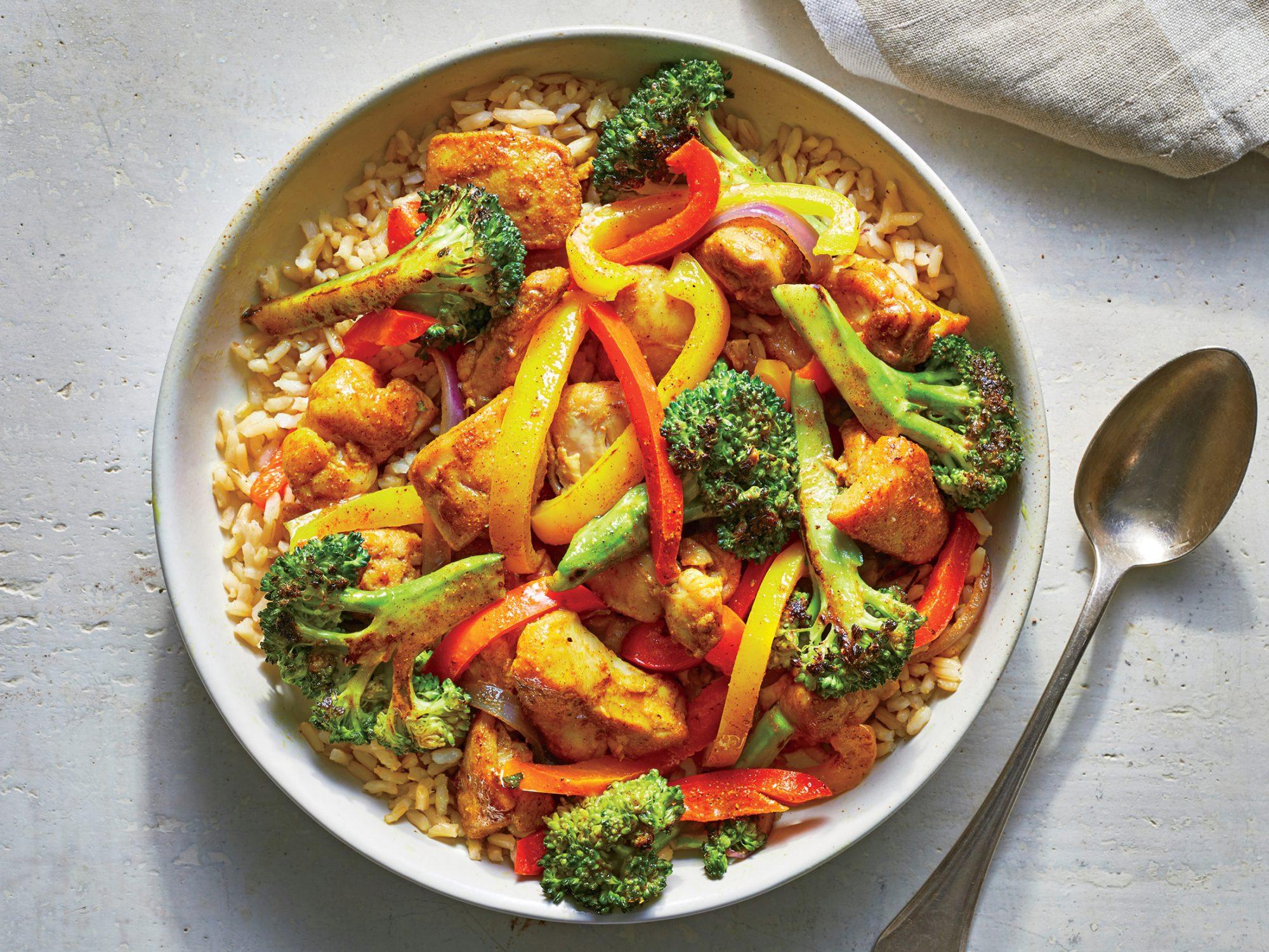Chicken Curry Stir-fry