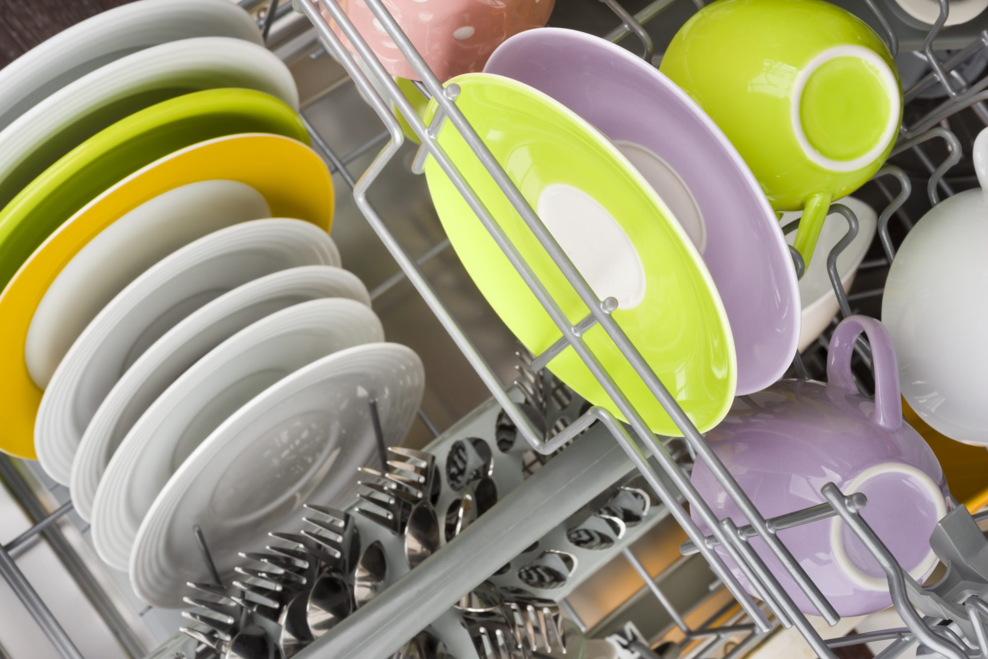 getty colorful dishes