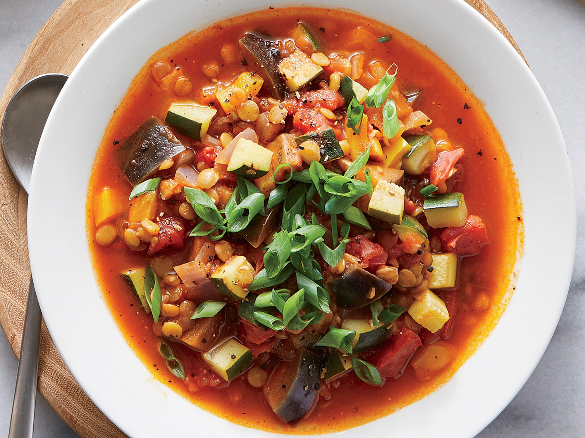 Summery Lentil Soup