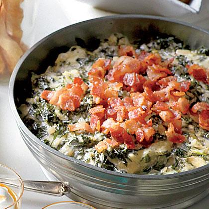 Warm Kale-and-Asiago Dip