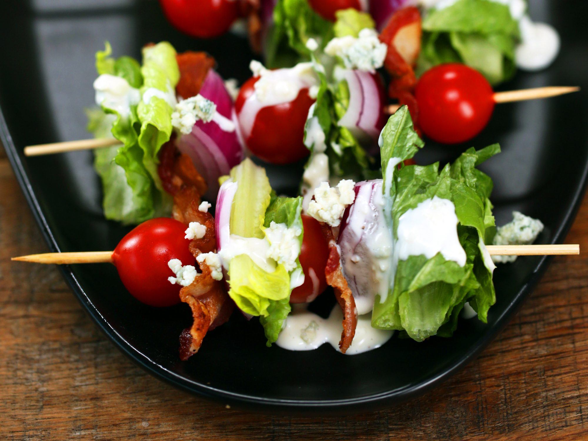 Wedge Salad On A Stick image