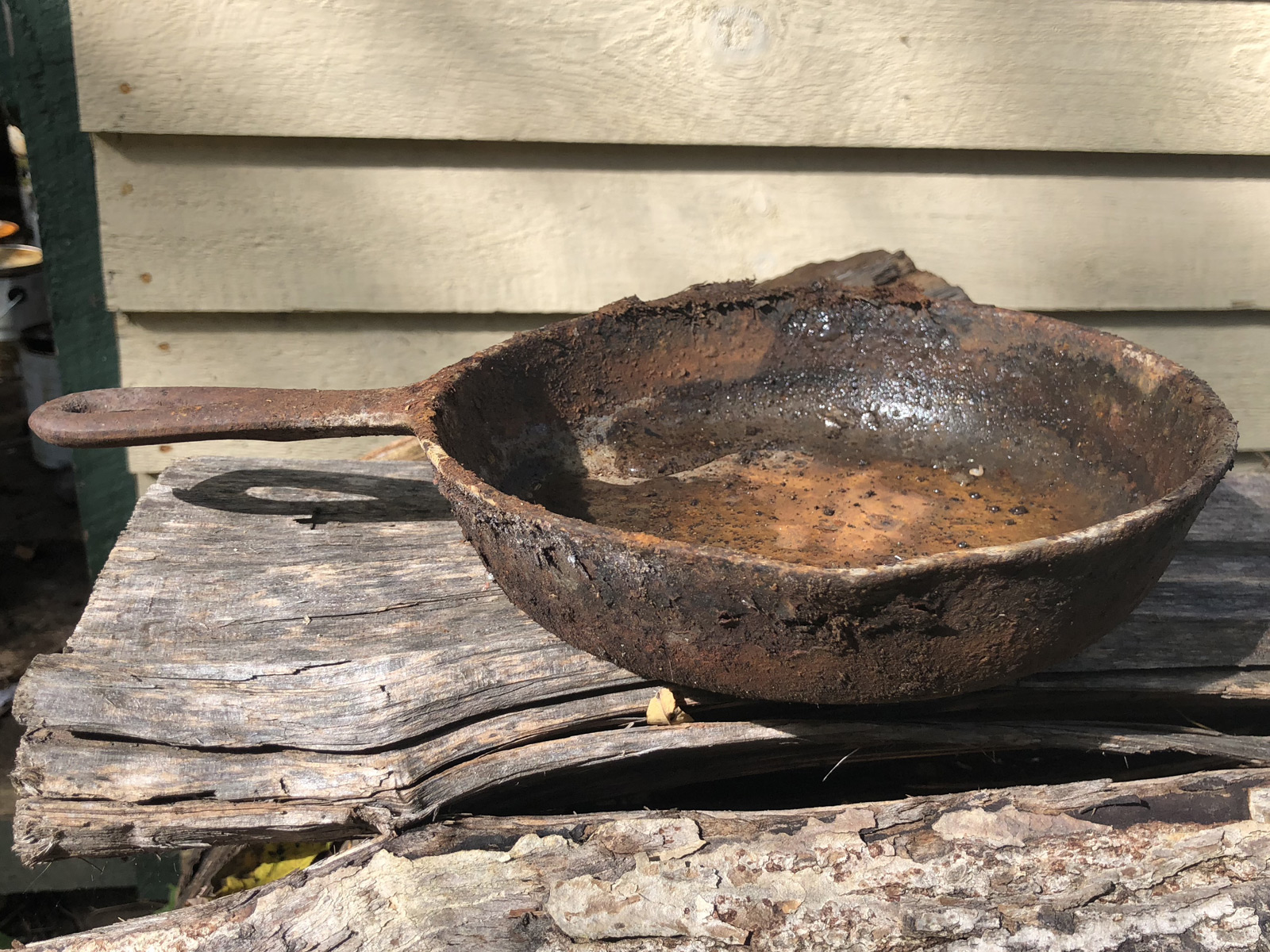 Can This Cast-Iron Skillet Be Saved? | Extra Crispy