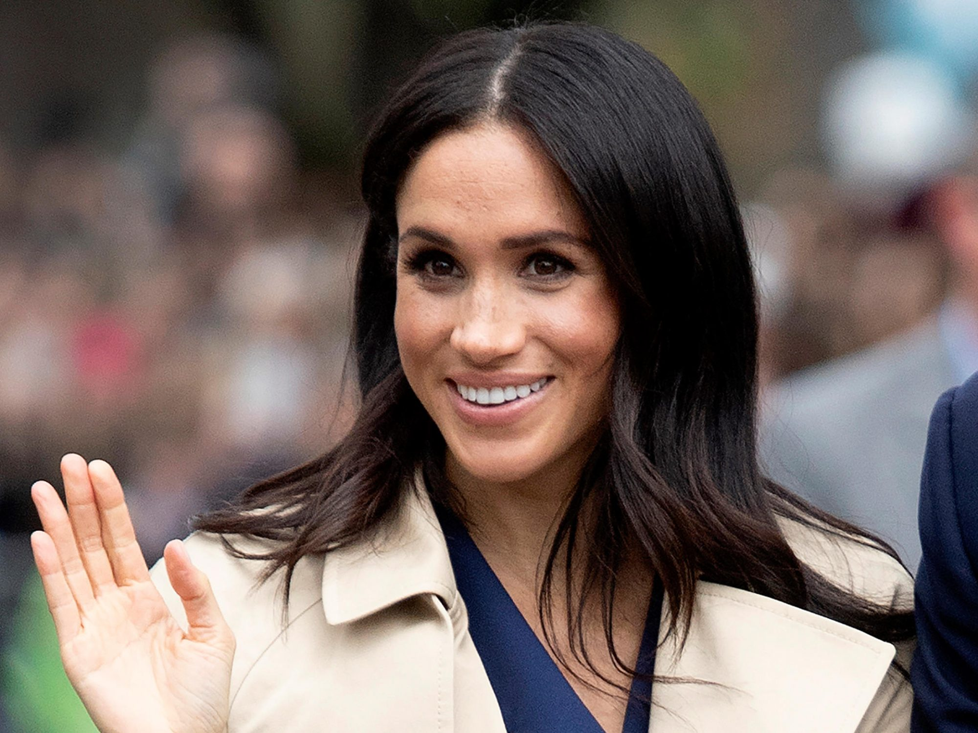 Meghan Markle Wore a Necklace Made From Pasta for the Sweetest Reason