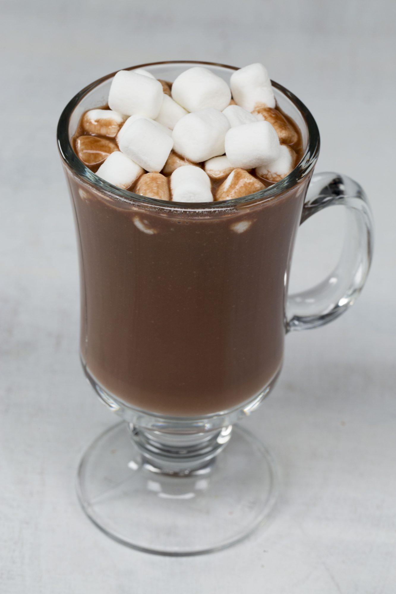 Creamy Dairy-Free Hot Chocolate image