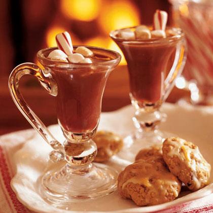 Peppermint Stick Hot Chocolate