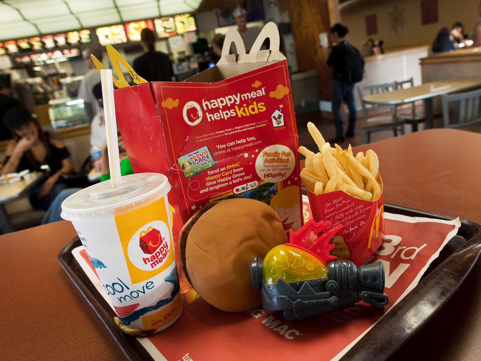 McDonald's Drops Happy Meals from the Dollar Menu