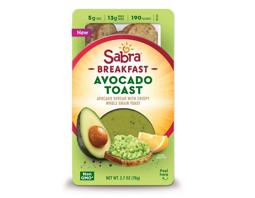 sabra avocado toast