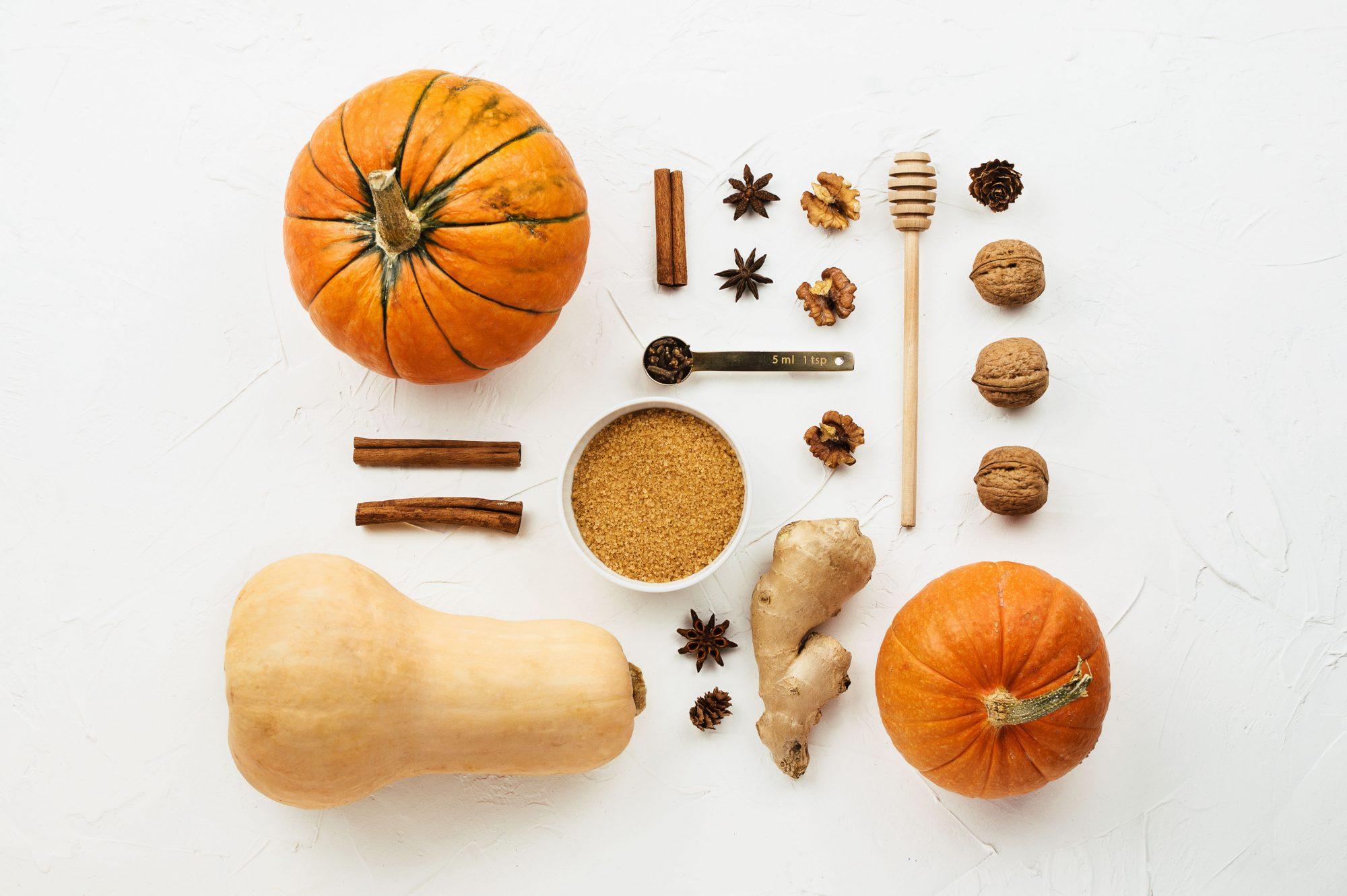 Pumpkin Spice Components