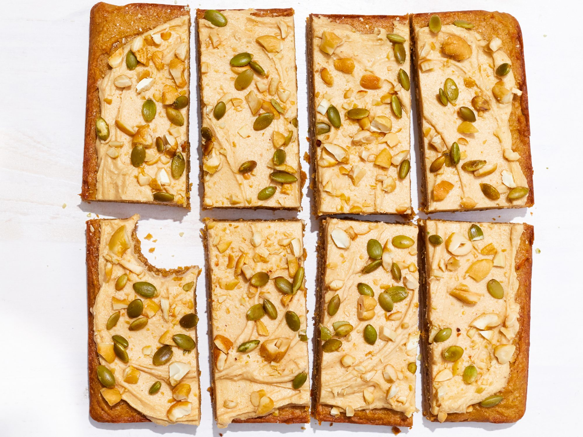 Butternut-Nut Butter Bars