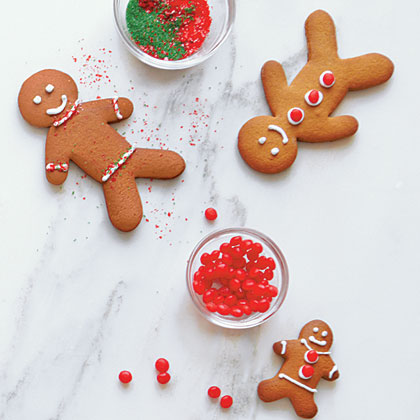 Gingerbread Men Cookies Recipe Myrecipes
