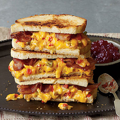 Some Like It Hot  Grilled Pimiento Cheese Sandwiches