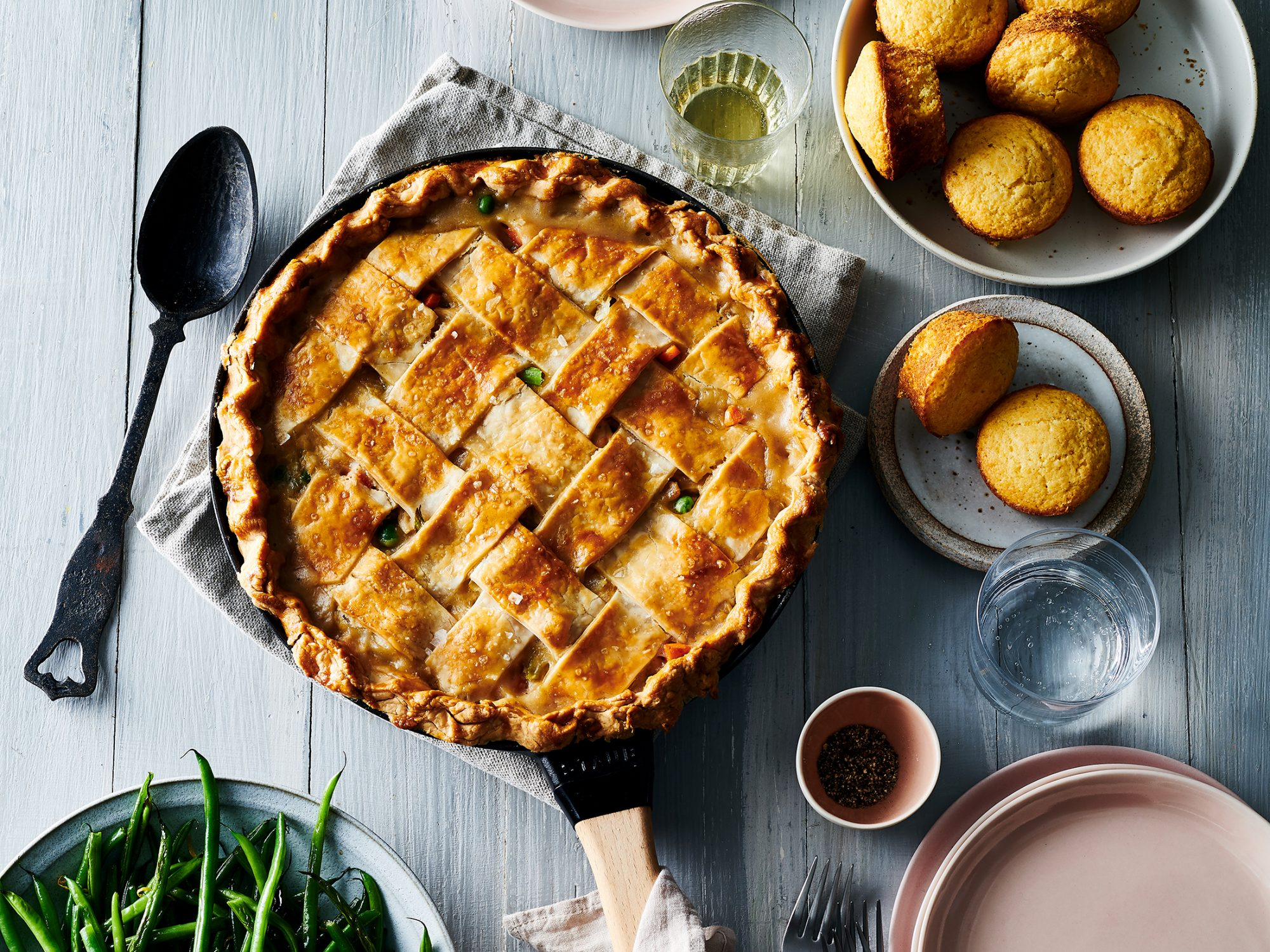Best Damn Chicken Pot Pie image