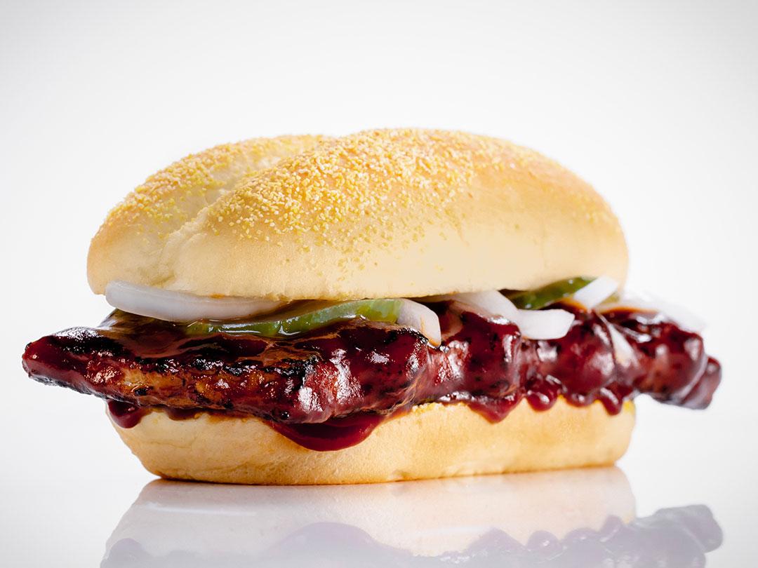 McRib Sandwich