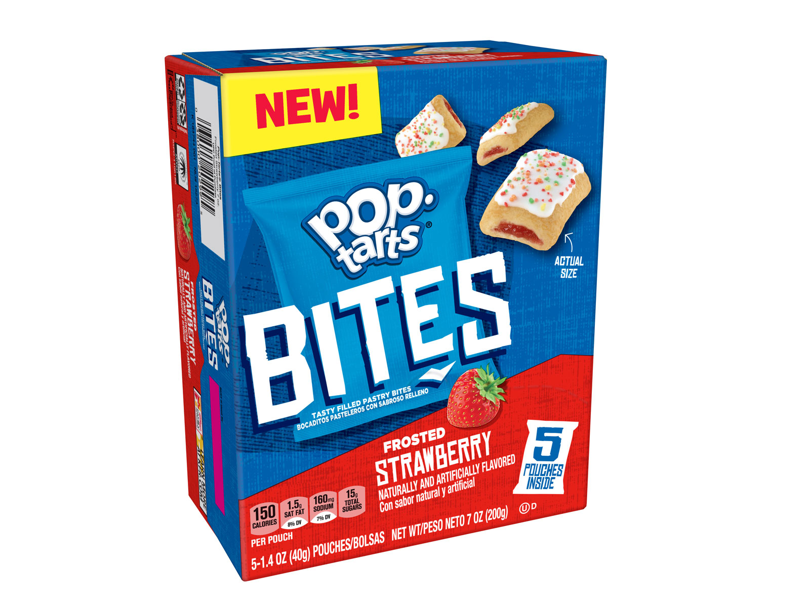 Strawberry Pop-Tart Bites