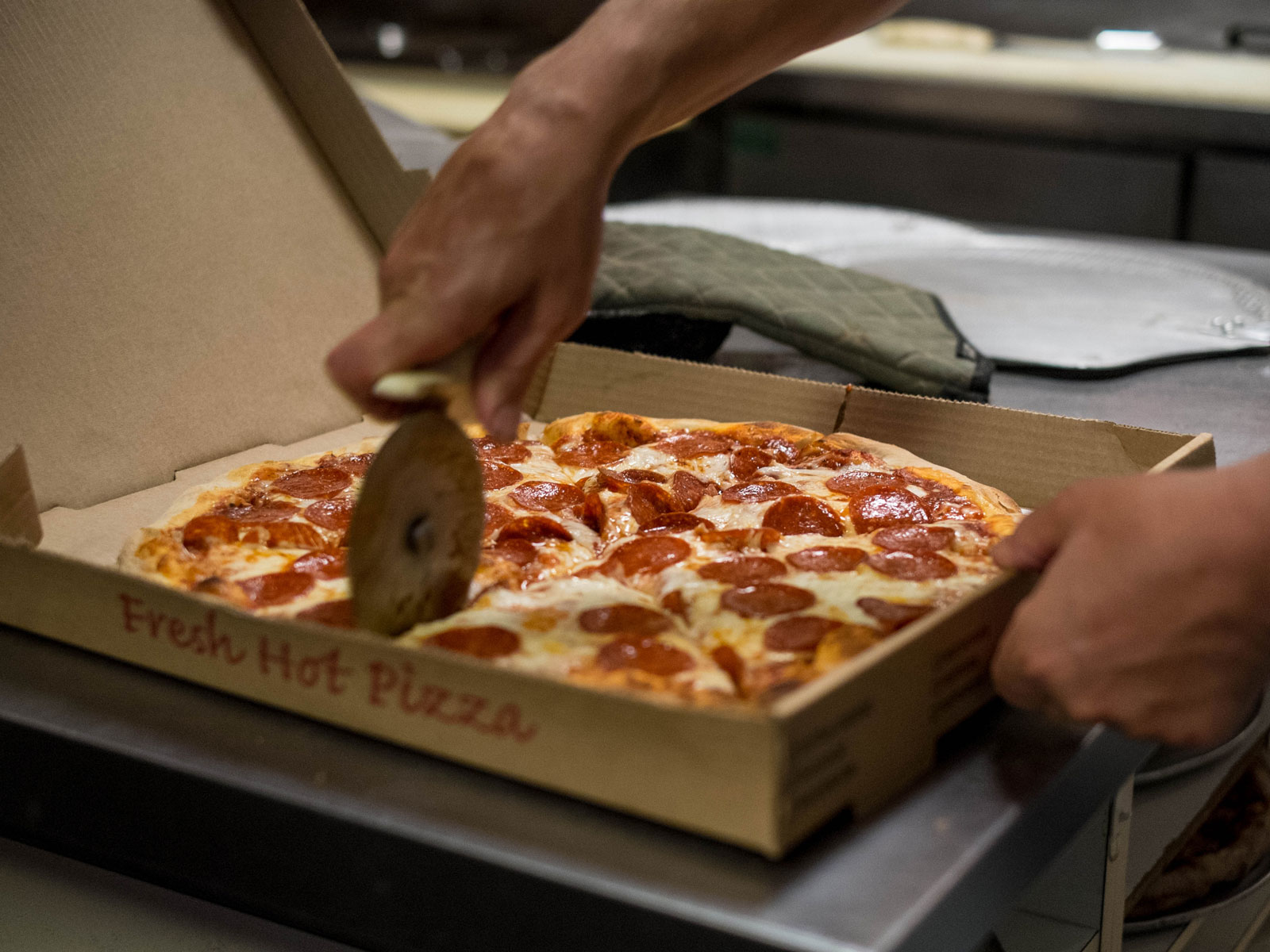 This Non-Profit Sends Free Pizza to Voters Waiting in Long Lines on Election Day