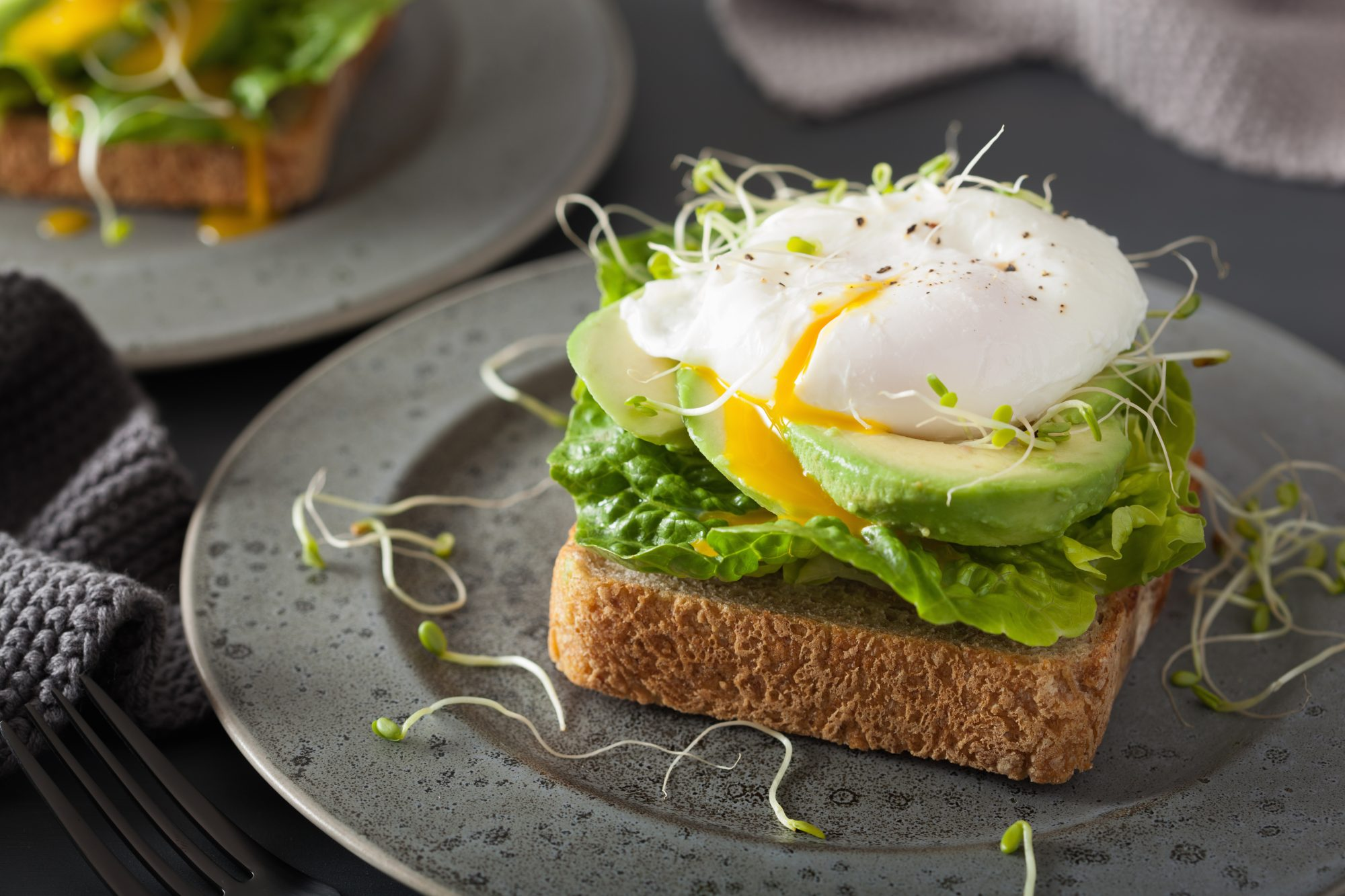 getty poached egg