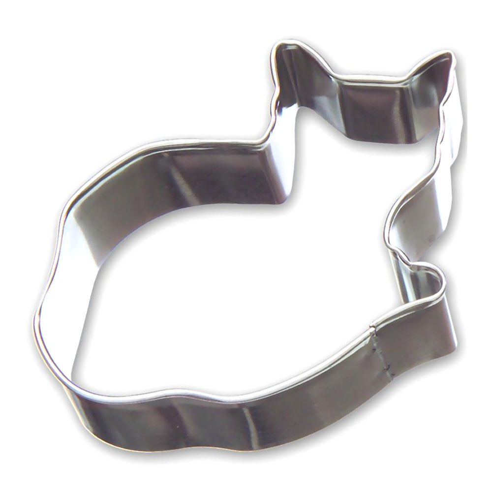 Cozy Cat Tin Cookie Cutter