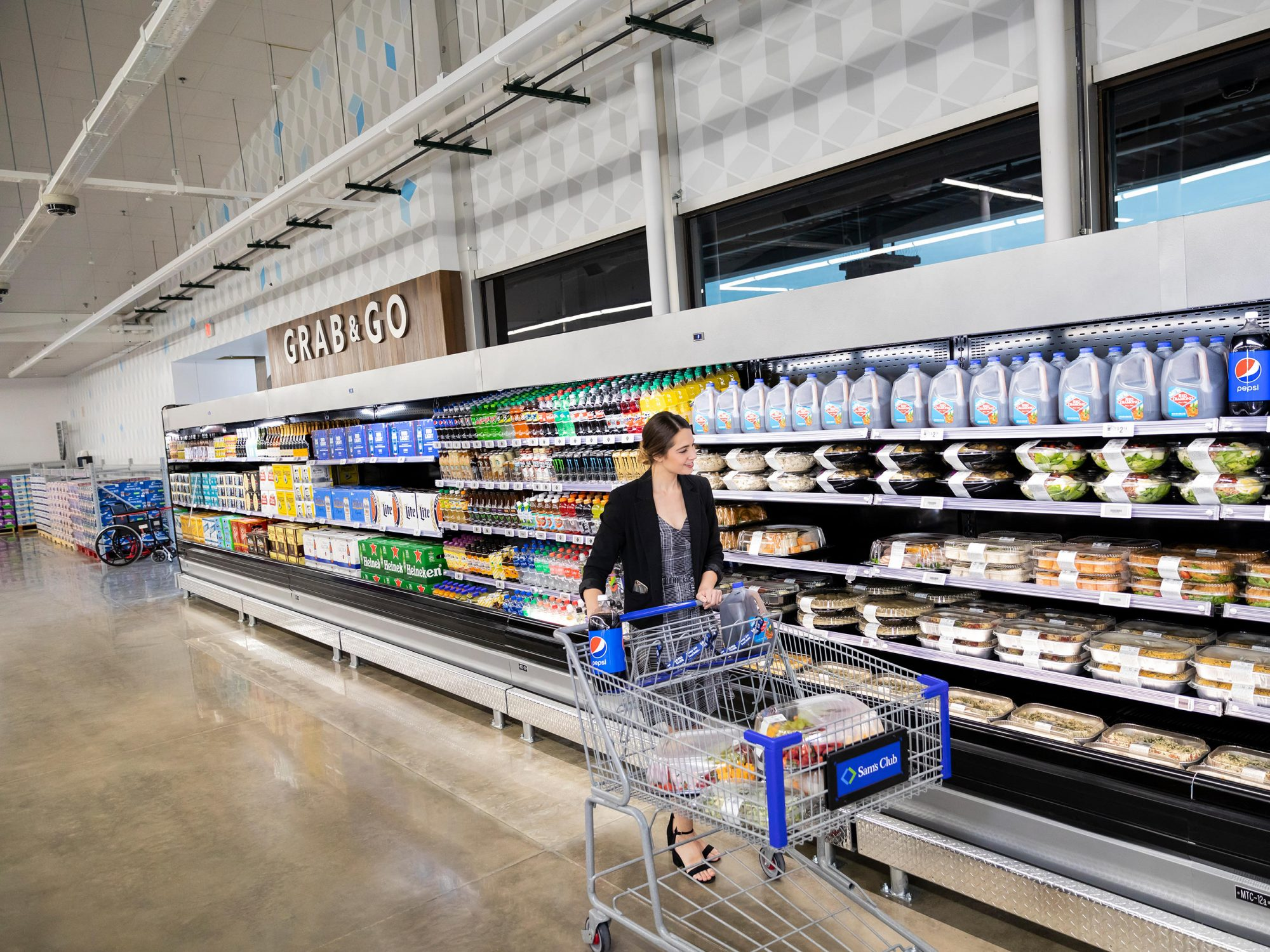 The Newest Sam's Club Store Has No Cashiers—Here's Why 1810w-Sams-Club-Grab-and-Go