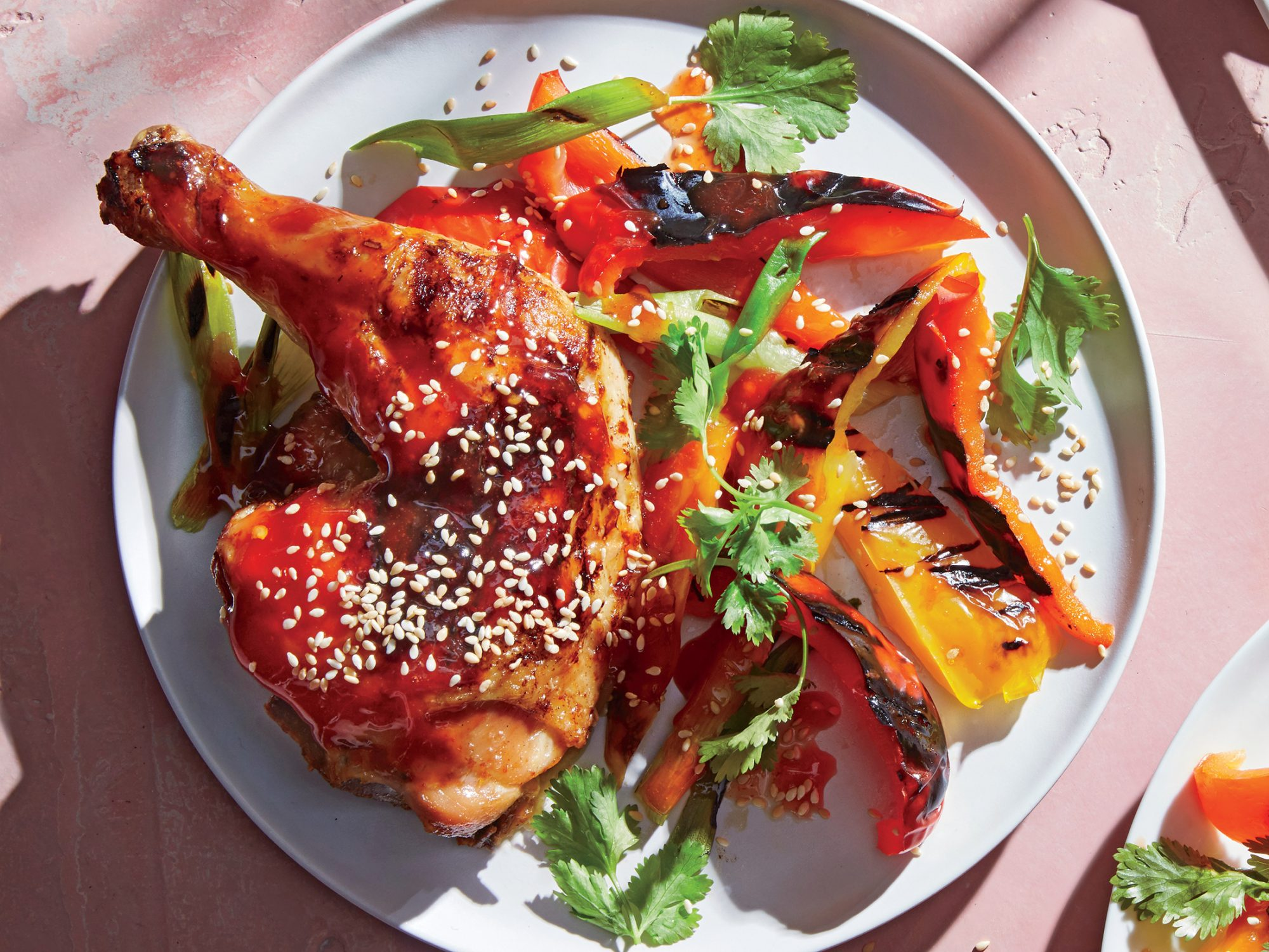 Grilled General Tso's Chicken
