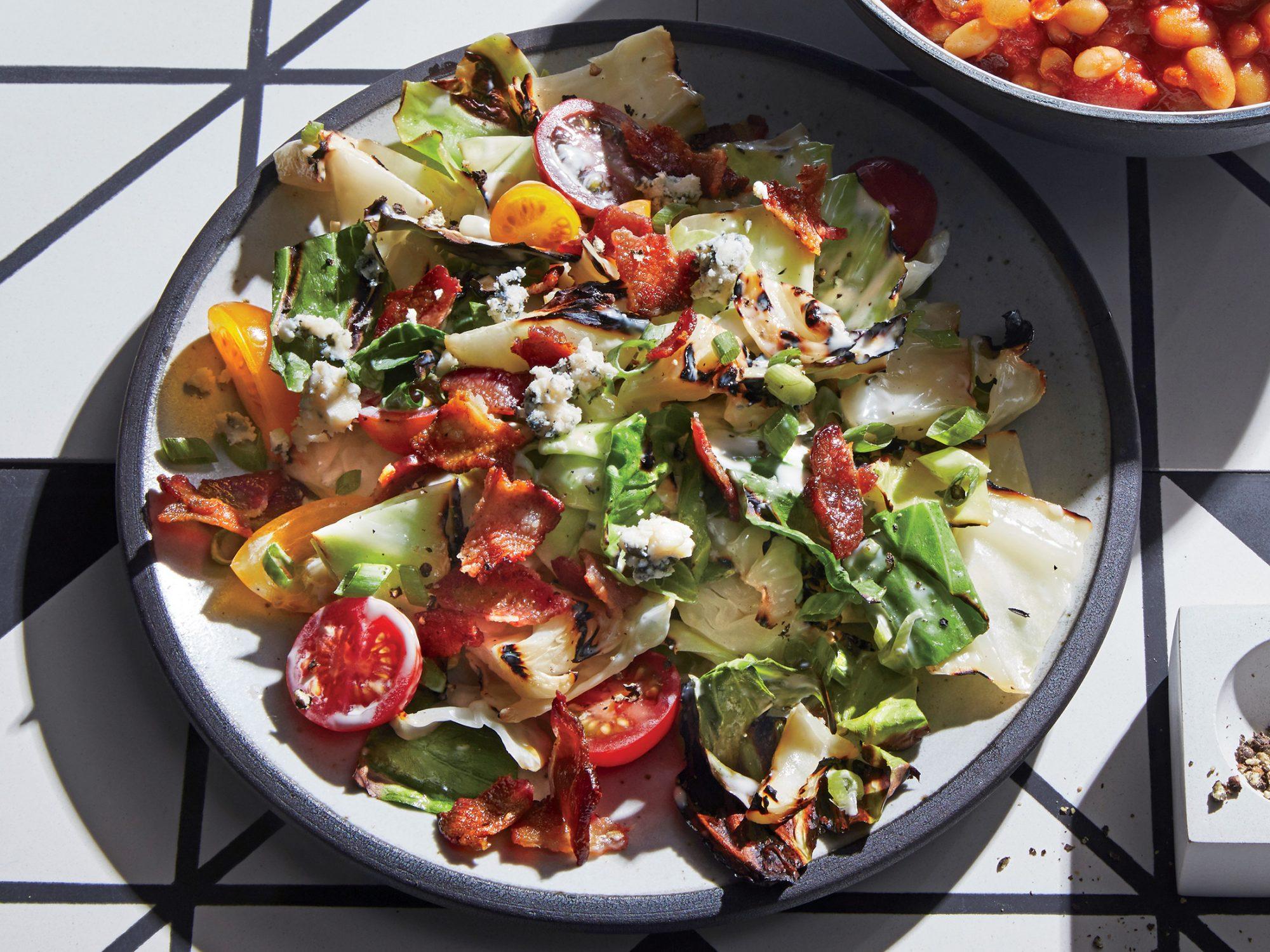 Grilled Wedge-Salad Slaw
