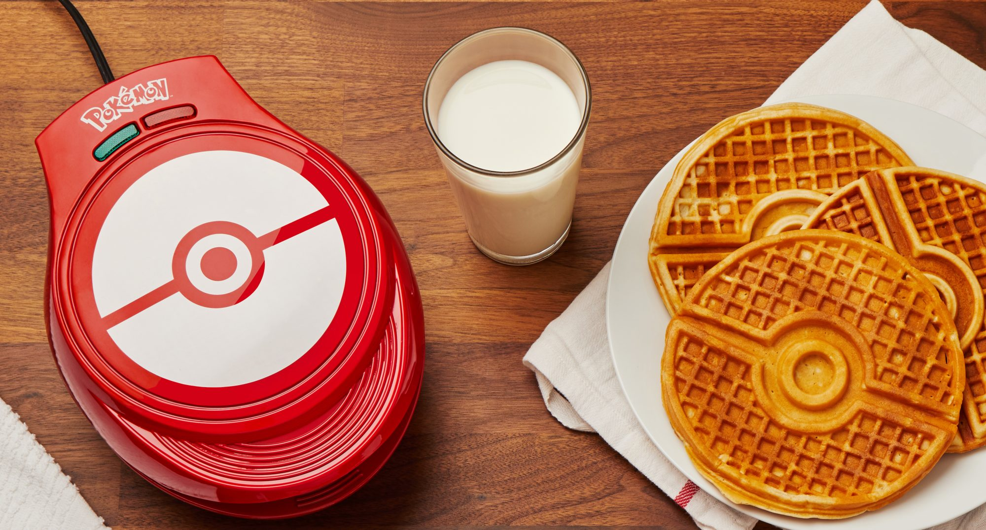 You Can Eat Poké Balls for Breakfast with This New Pokémon Waffle Maker