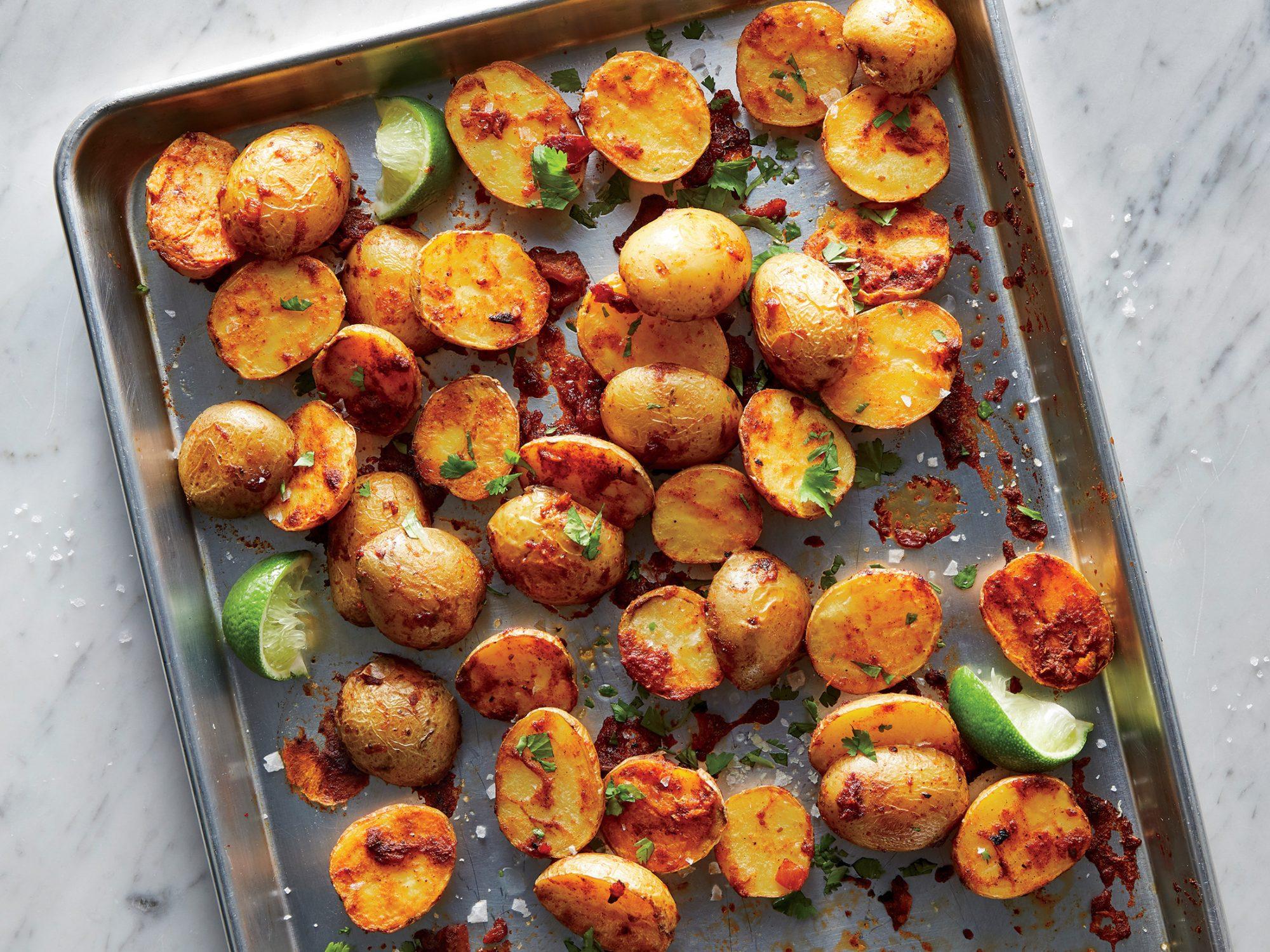 Salsa-Roasted Potatoes