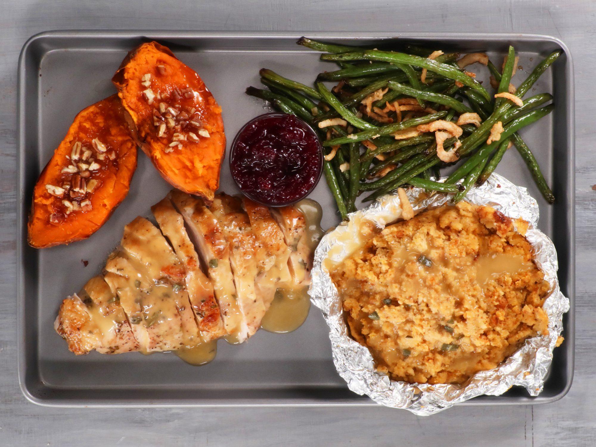 Sheet Pan Thanksgiving Dinner image