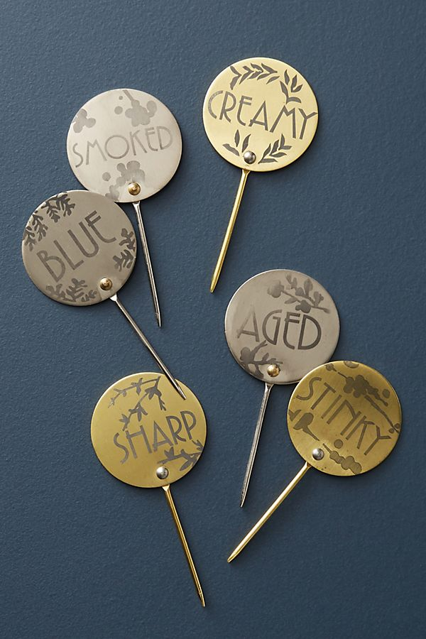 Cheese Markers, Set of 6