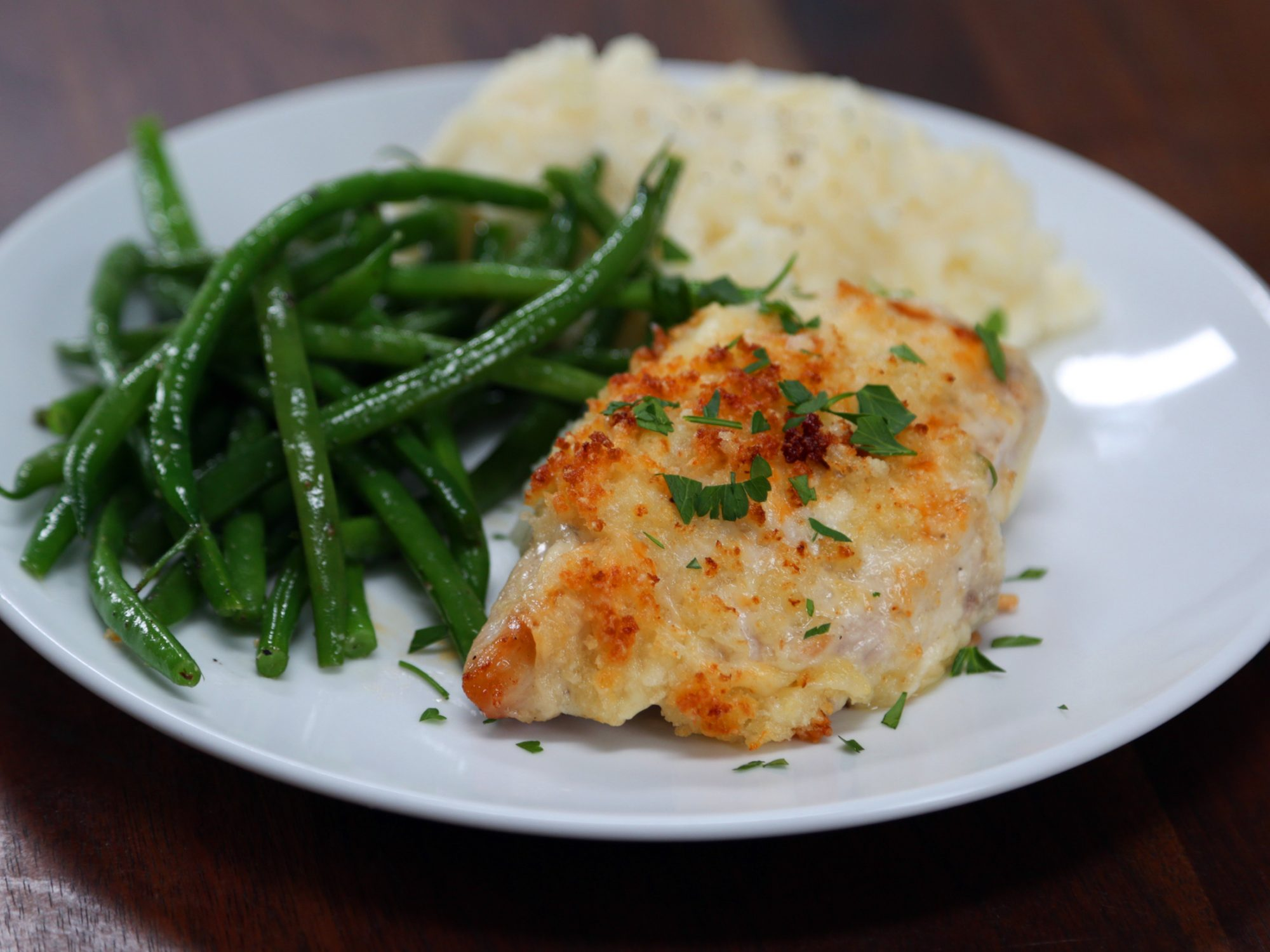 Copycat Longhorn Parmesan Crusted Chicken image