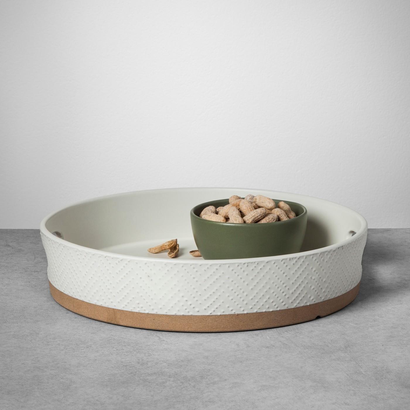 Stoneware Tray - Cream - Hearth & Hand™ with Magnolia