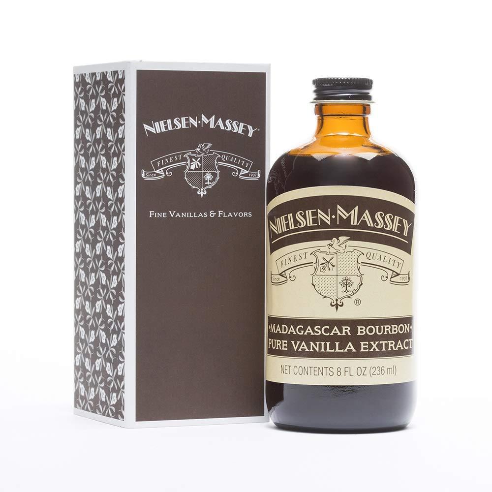 Nielsen-Massey Madagascar Bourbon Vanilla Extract, 8 ounces