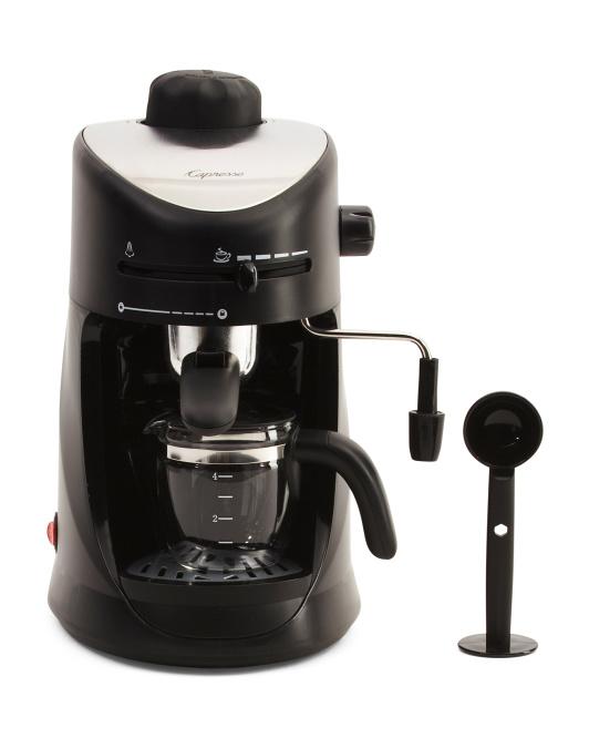 4 Cup Steam Pro Espresso Machine