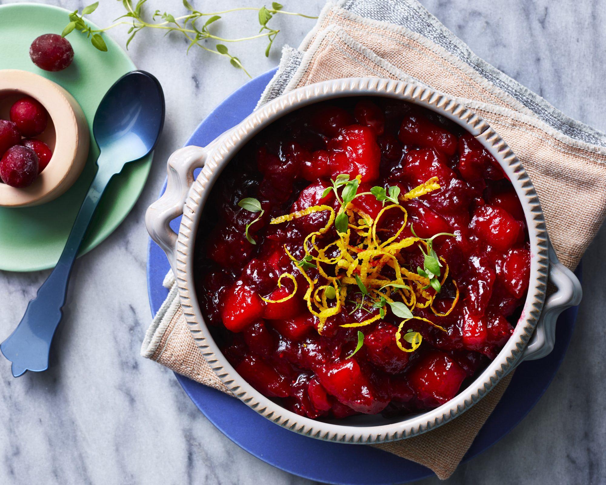 mr-Instant Pot Cranberry Sauce