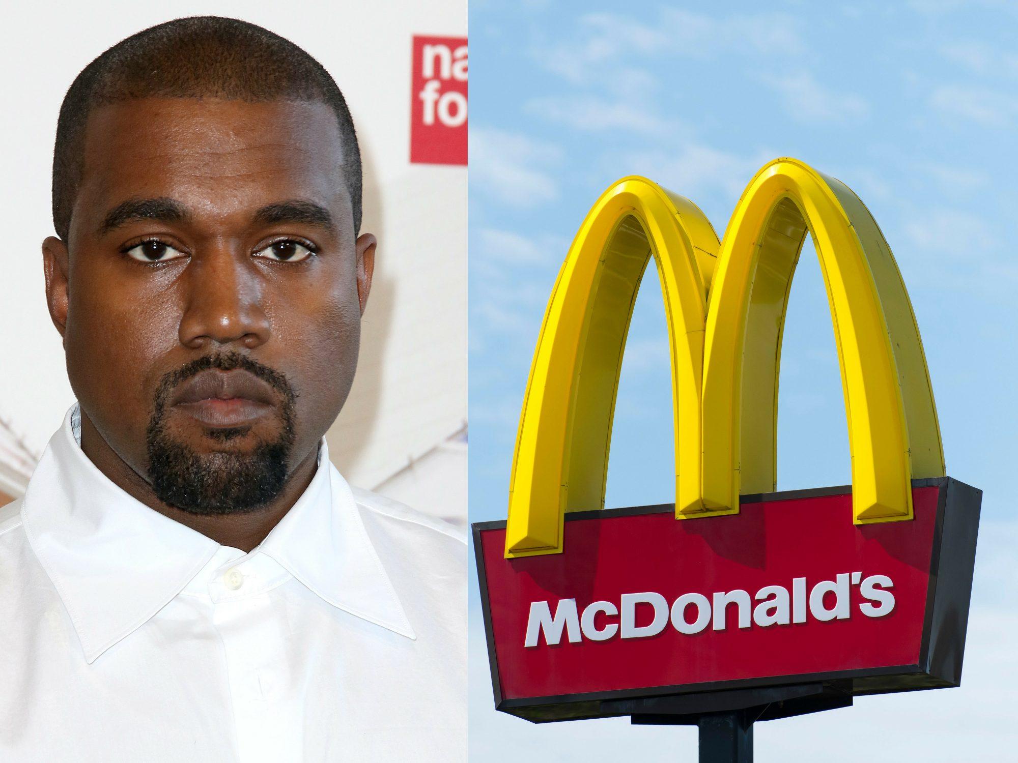 Kanye and McDonald's