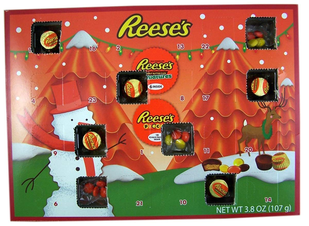 This Reese's Advent Calendar Might Be the Sweetest Way to Count Down to Christmas