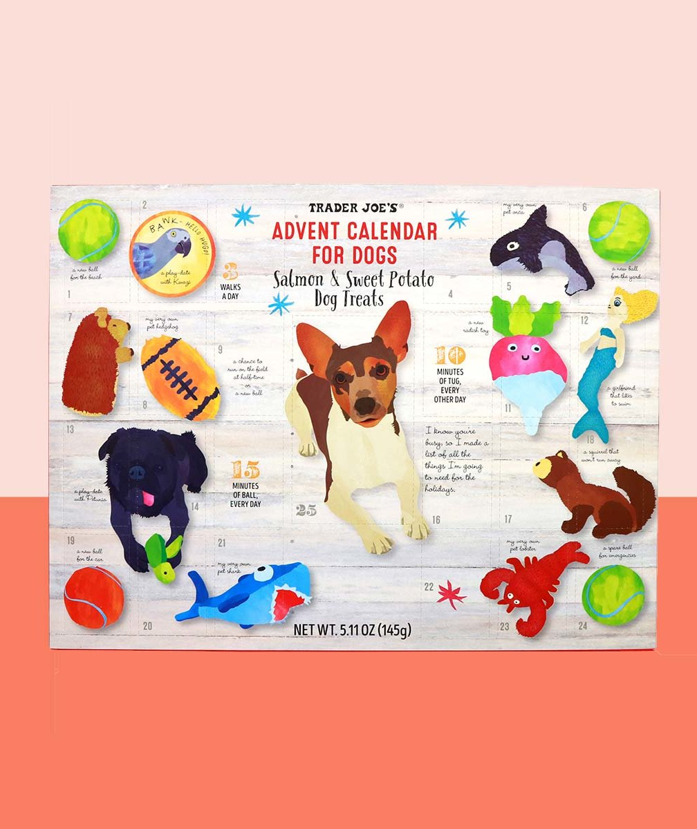 Trader Joe's New Edible Advent Calendar Is a Must-Buy for Dog Owners