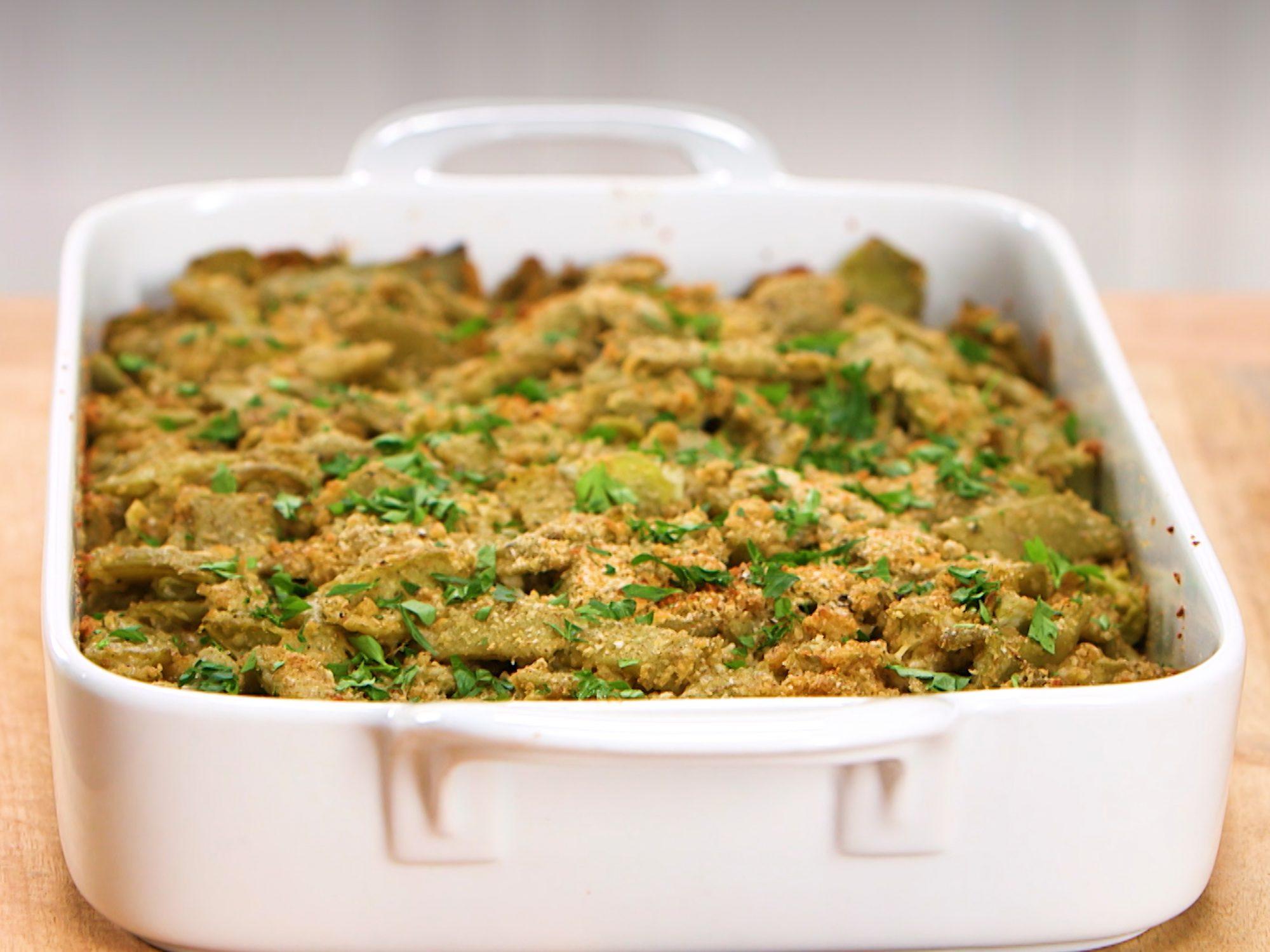 Italian-Style Green Bean Casserole