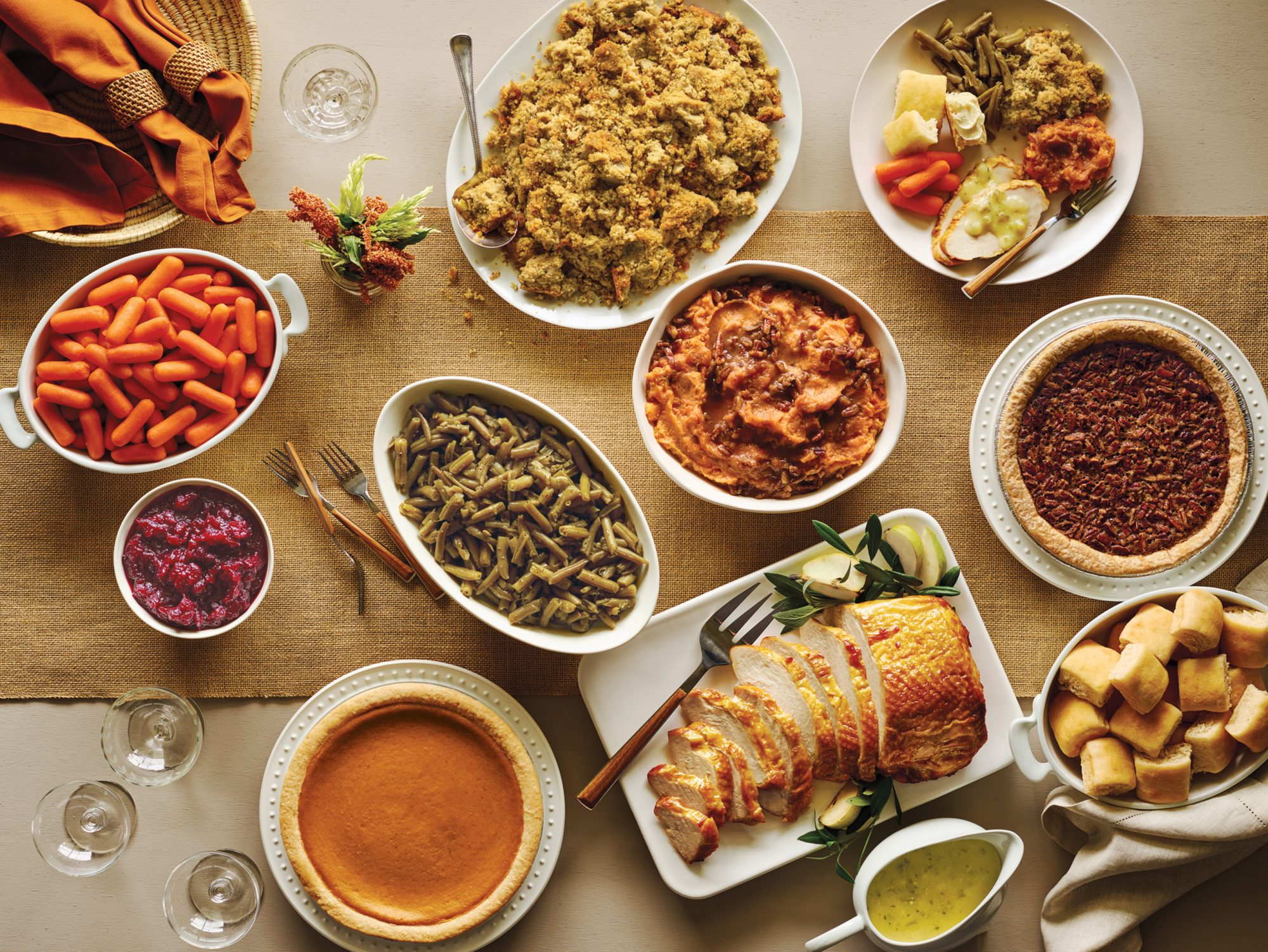 5 Places You Can Pick Up Ready-Made Thanksgiving Dinner